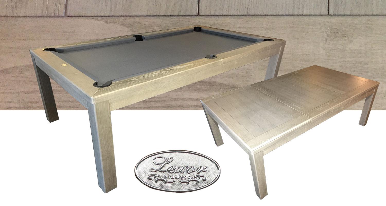 PC0230: Pooltafel Lexor Cubic Old-Grey #1