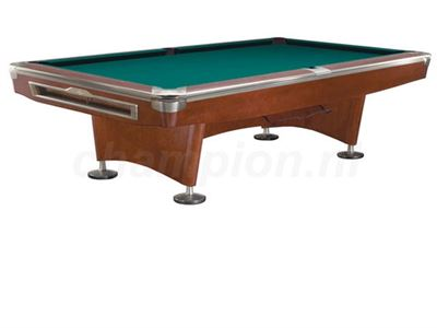 Pooltafel Lexor Competition Pro Brown/Nickel