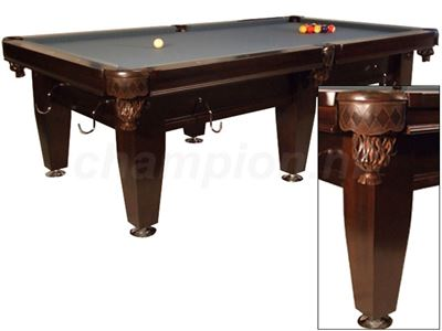 Pooltafel Lexor Imperator Competition Pro Wenge/chrome