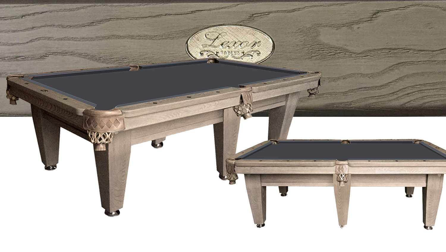PC0261: Pooltafel Lexor Imperator Competition Pro Old-Grey