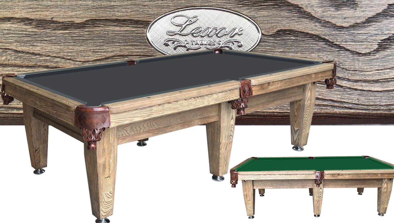 PC0262: Pooltafel Lexor Imperator Competition Pro Vintage-Oak #1