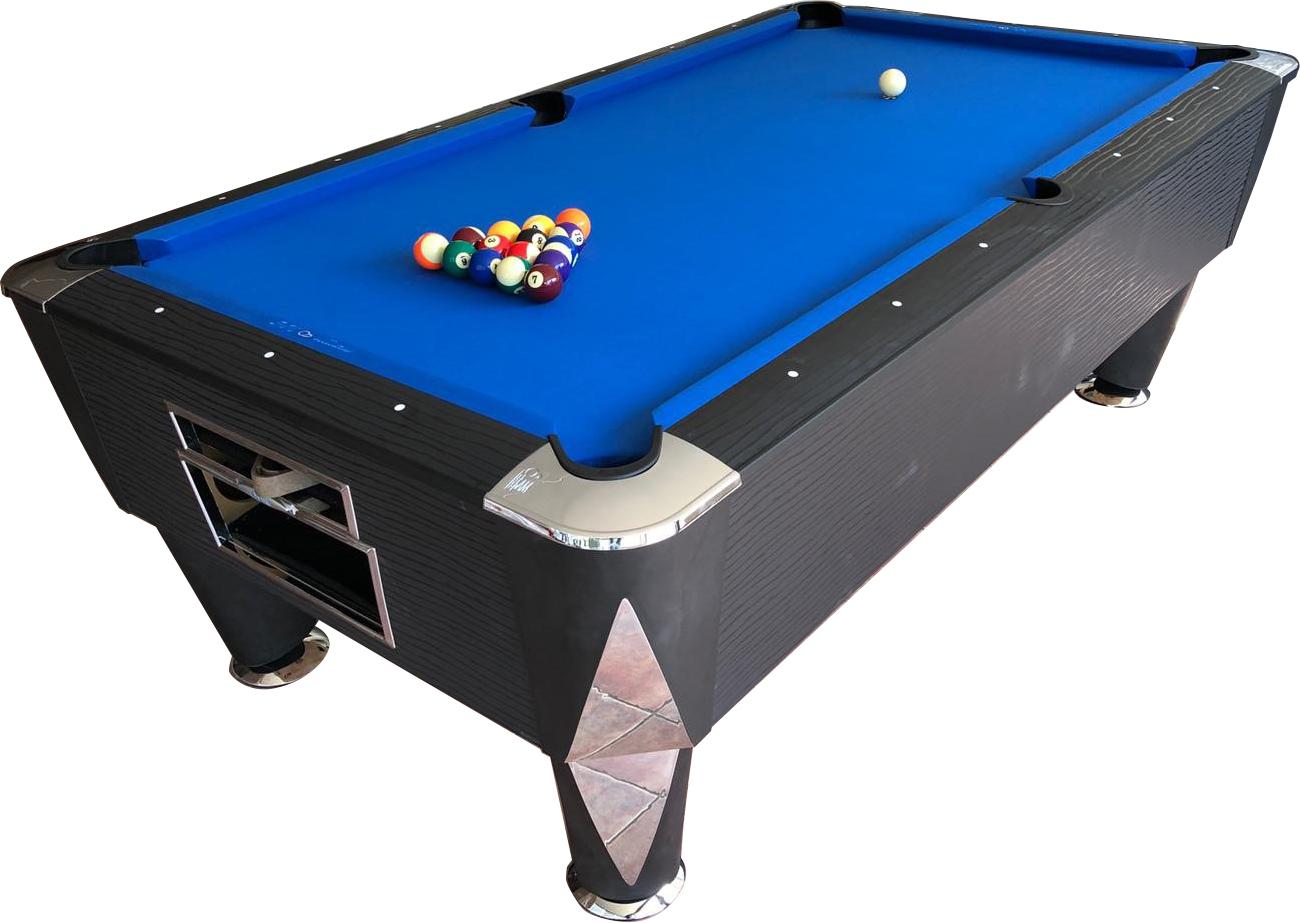 PC0835: Pooltafel Sam Magno Champion (zonder munt) zwart #1