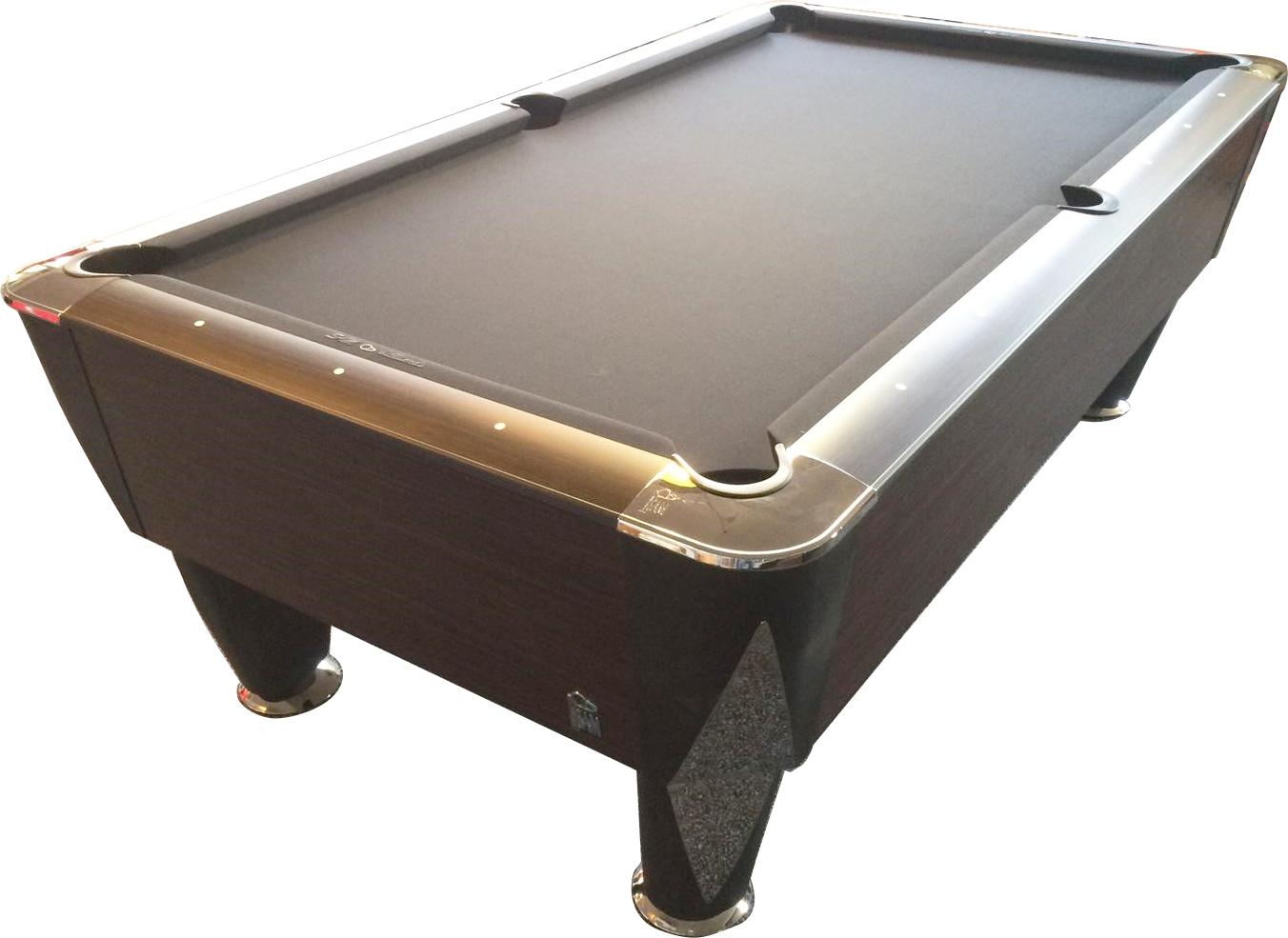 PC0835: Pooltafel Sam Magno Champion (zonder munt) zwart #2
