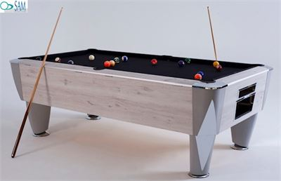 Pooltafel Sam Magno Champion (zonder munt) wood