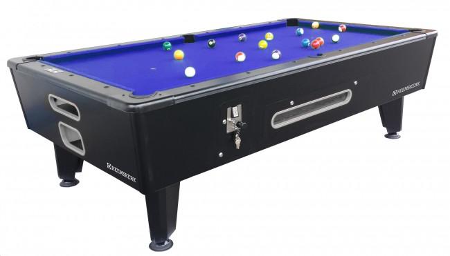 PC0856: Pool table Heemskerk KICK SHOT 6ft (incl. munt) #1