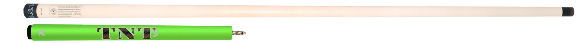 PK0656-FG: Falcon ® TNT-3 Jump cue - fluor green  #1