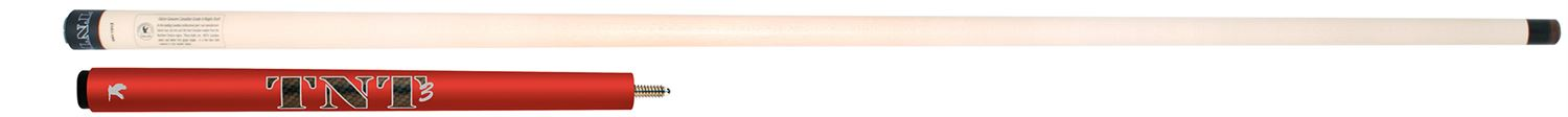 Falcon ® TNT-3 Jump cue - red
