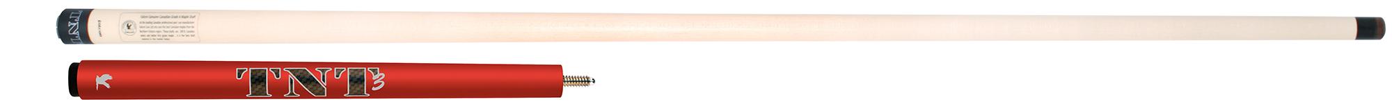 PK0656-R: Falcon ® TNT-3 Jump cue - red  #1