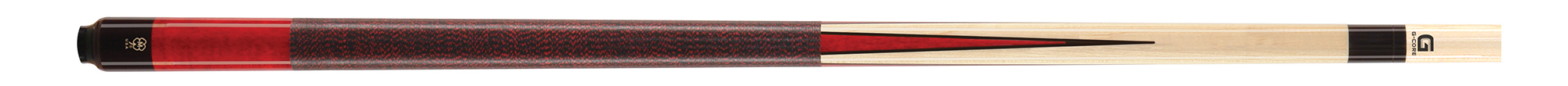 PK3020: McDermott G231 Colorado Red prongs pool Gewicht: 19Oz #1
