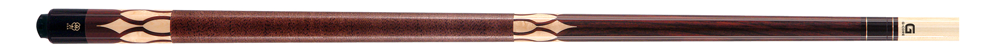 PK3042: McDermott G401 Rosewood/inlay pool #1