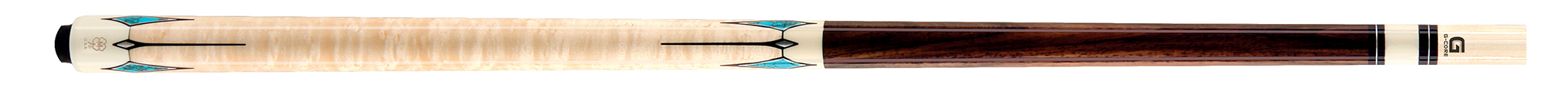 PK3050: McDermott G413 Birdseye/inlay pool  #1
