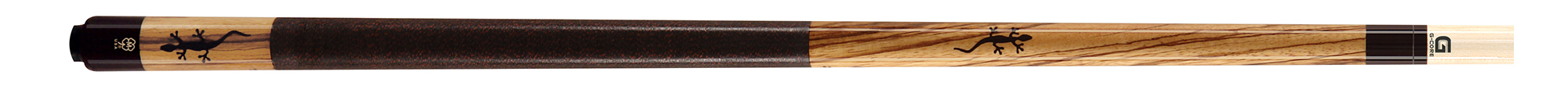 PK3069: McDermott M54A Zebrawood/inlay pool #1