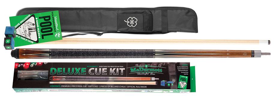 PK3073: McDermott Deluxe Pool Cue Kit 3 #1