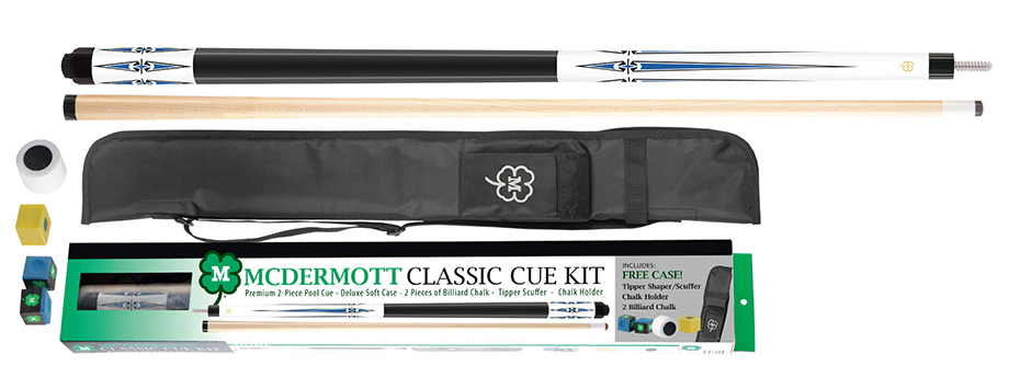 PK3075: McDermott Classic Pool Cue Kit 5 #1