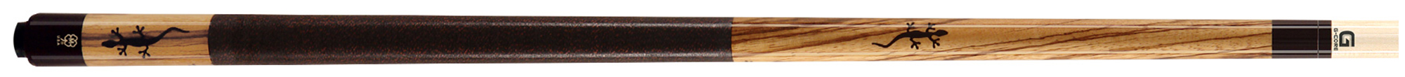 PK3100: McDermott M54A Zebrawood/inlay pool #1