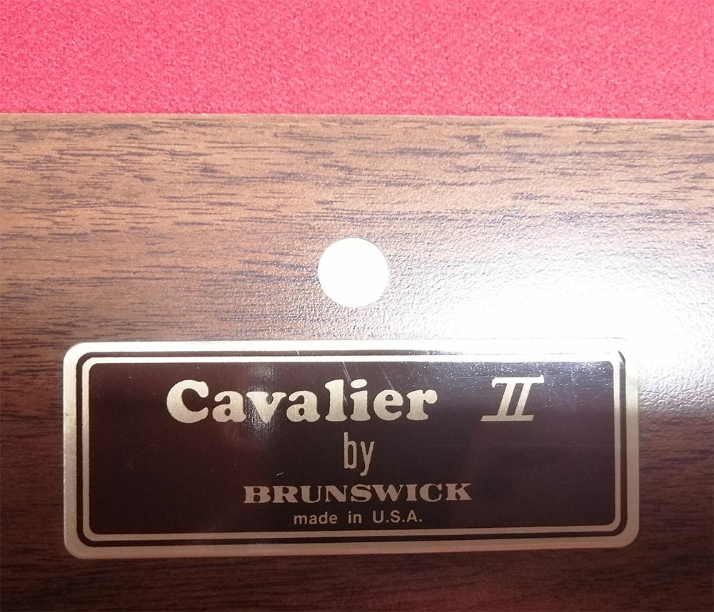 PO0112: Occasion Brunswick Cavalier II ball-return #2