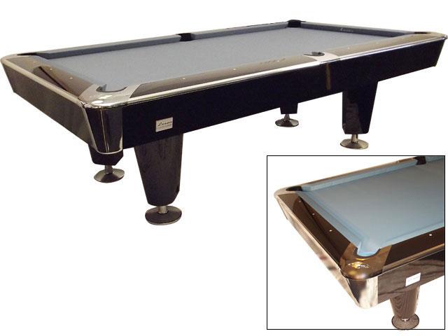 PO0120-8: Pooltafel Lexor X-treme Glamour Piano Black-Chroom showmodel! #1