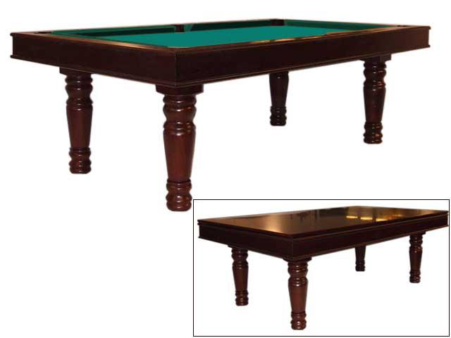 PO0123: Occasion Pooltafel Lexor Chateau mahogany #1