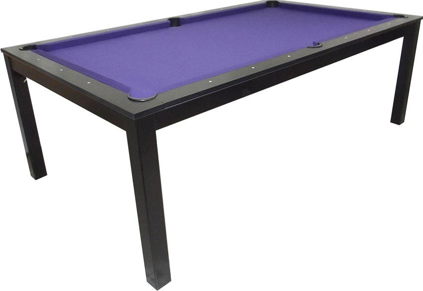 SC0125-6B: Snookertafel Lexor Dinner Black Oak, frame in white,silver or black #1