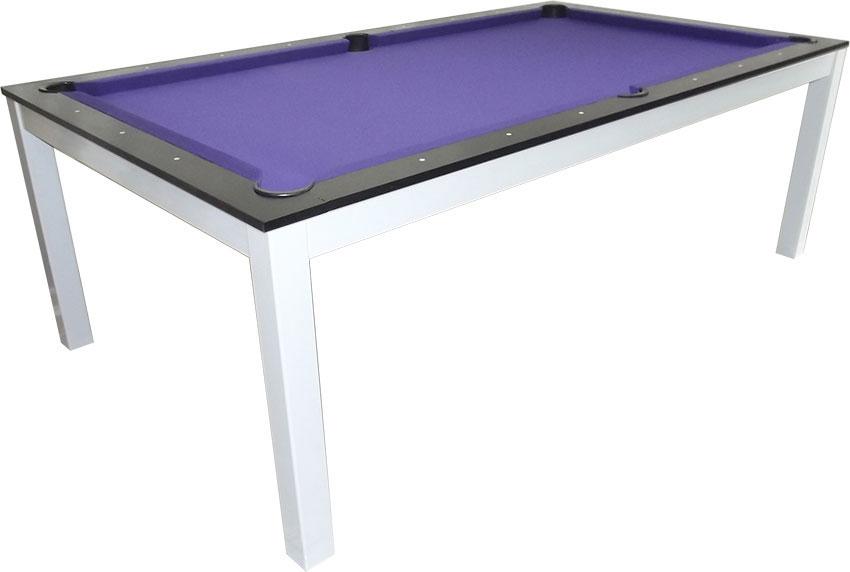 SC0125-6B: Snookertafel Lexor Dinner Black Oak, frame in white,silver or black #3