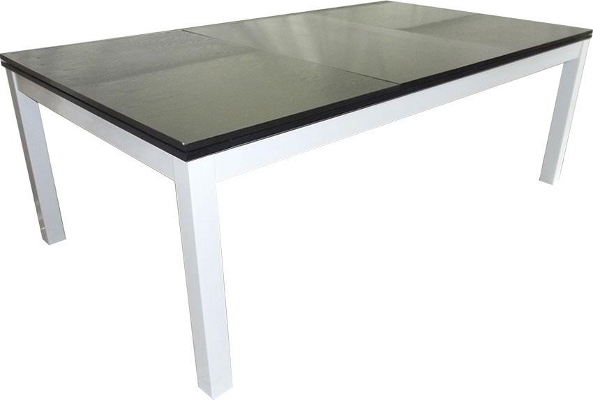 SC0125-6B: Snookertafel Lexor Dinner Black Oak, frame in white,silver or black #4