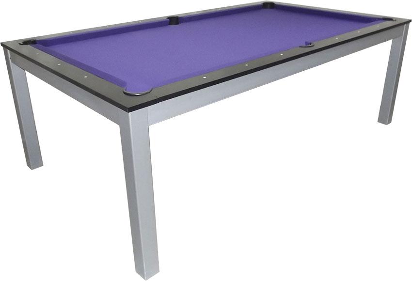 SC0125-6B: Snookertafel Lexor Dinner Black Oak, frame in white,silver or black #5