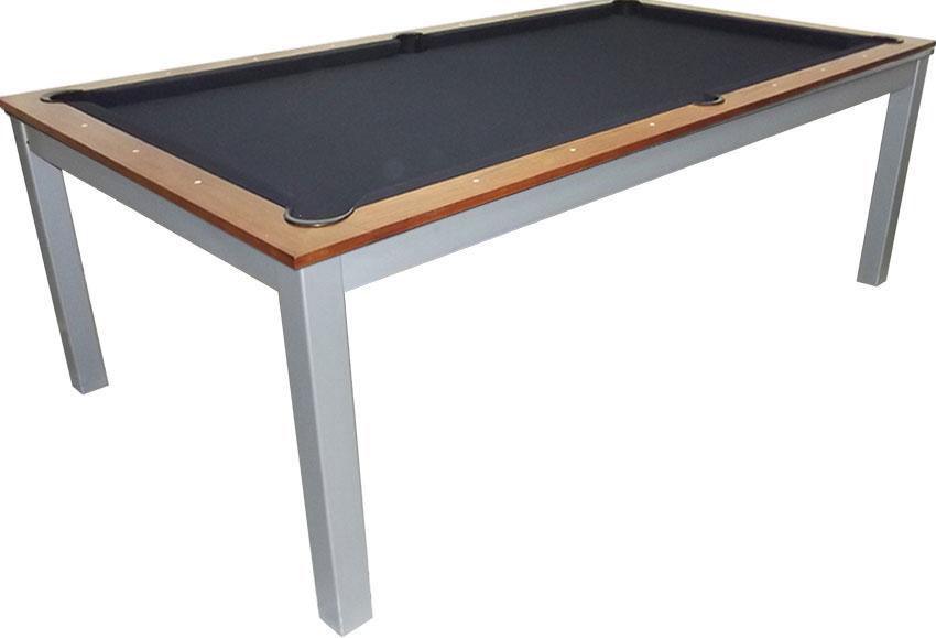 SC0125-6W: Snookertafel Lexor Dinner Walnut, frame in white,silver or black #1