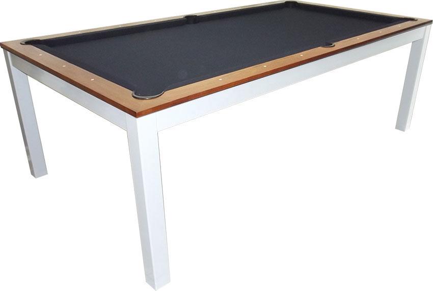 SC0125-6W: Snookertafel Lexor Dinner Walnut, frame in white,silver or black #3