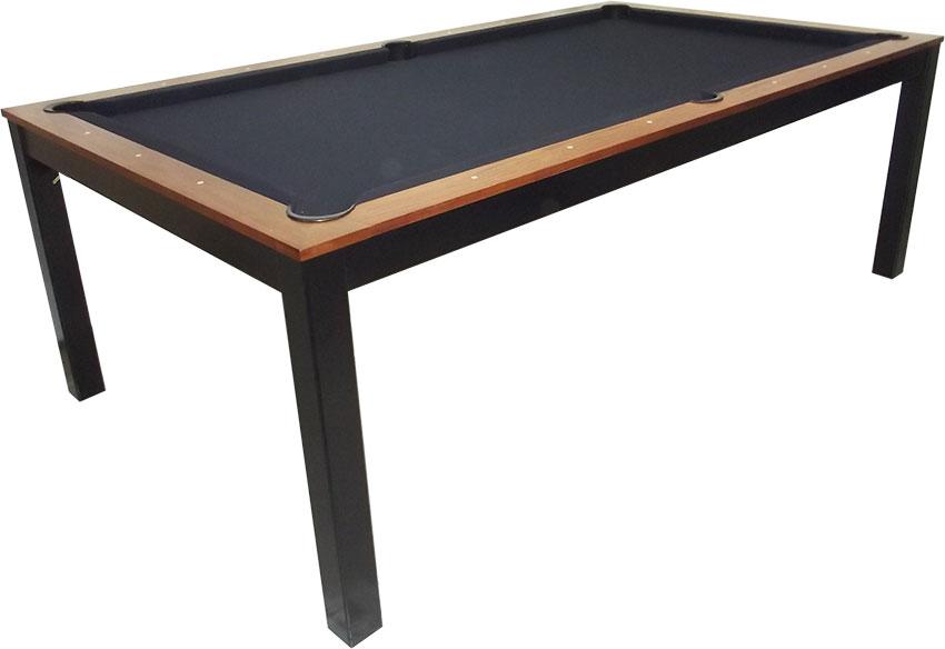SC0125-6W: Snookertafel Lexor Dinner Walnut, frame in white,silver or black #5