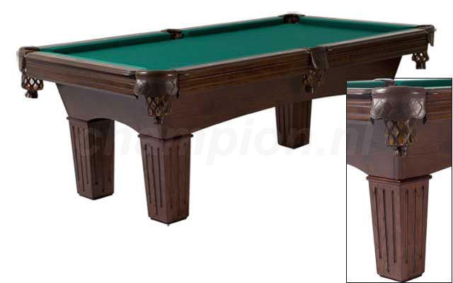SC0133: Snookertafel Lexor Remington Dark Oak #1