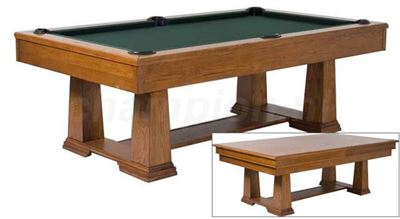 Snookertafel Lexor Monetary walnut