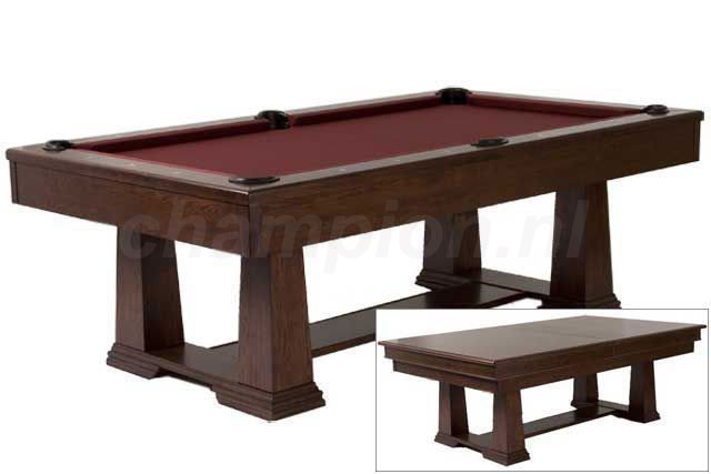 SC0161: Snookertafel Lexor Monetary dark oak  #1