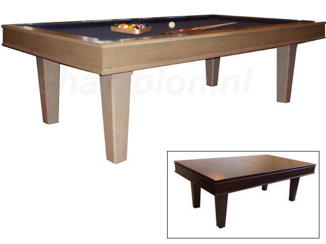 SC0199: Snookertafel Lexor Da Vinci Castle Oak #1