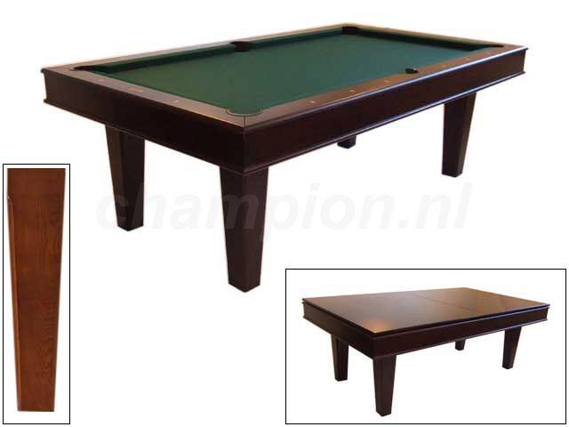 SC0201: Snookertafel Lexor Da Vinci Wenge #1