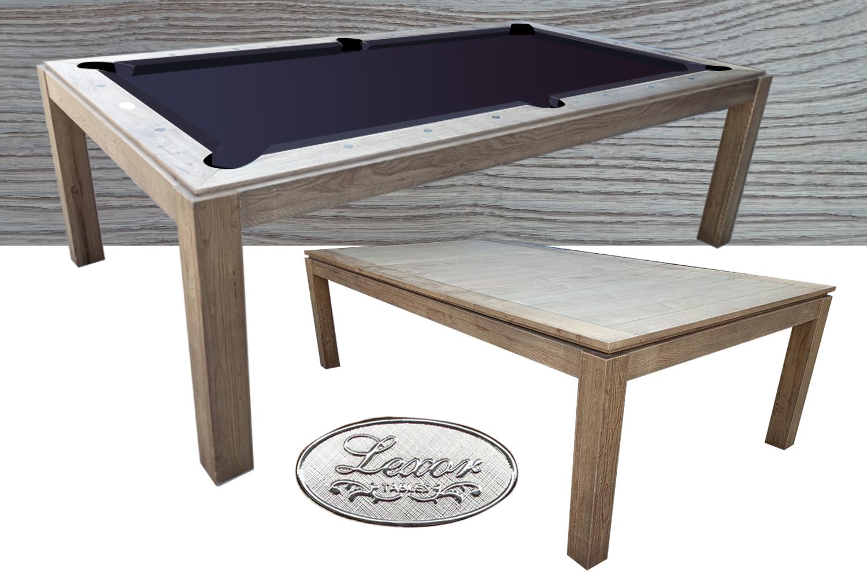SC0232-7: Snookertafel Lexor Dinner Design Vintage Oak #1