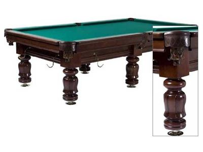 Snookertafel Lexor Classic Competition Pro Dark Oak