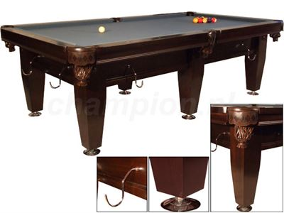 Snookertafel Lexor Imperator Competition Pro Wenge/chrome