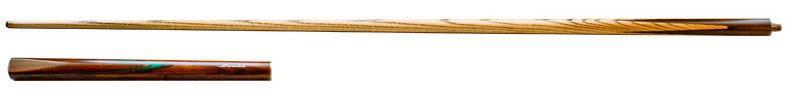 Snooker keu Lexor Semi Pro 1 3/4 brown w/green splice