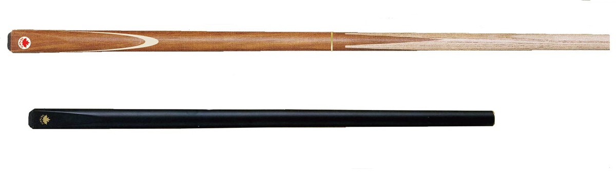 SK0241: Ontario Snookerkeu 3/4 4-punt natural veneer met extension #1