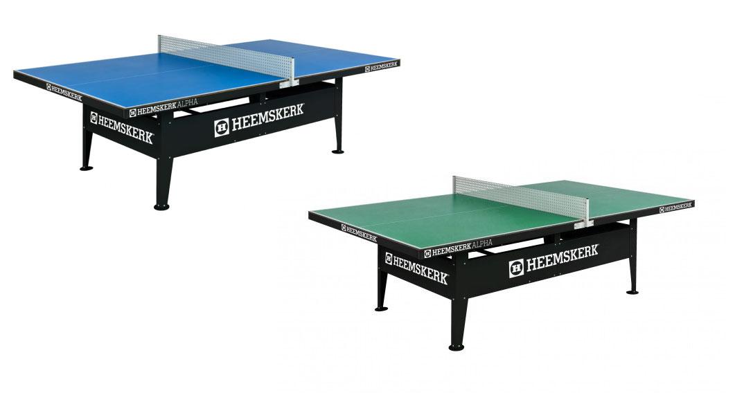 """TC0211: Tafeltennistafel Heemskerk Alpha Outdoor Groen of Blauw """"Gratis verzending""""  #1"""