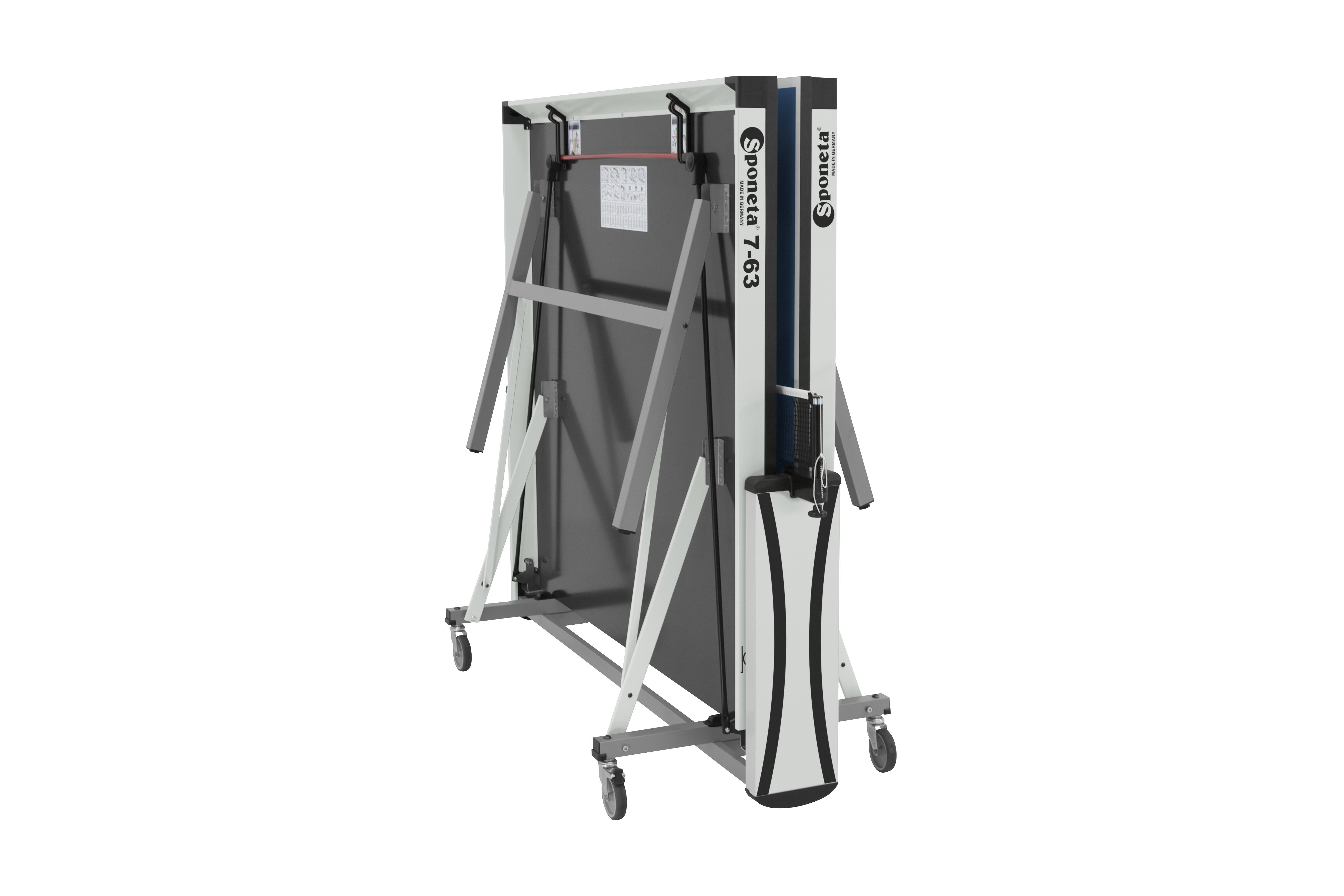 """TC0248: Tafeltennistafel Sponeta S7-63i Profi Line Indoor, 25mm, blauw, met compleet net""""Gratis levering"""" #3"""