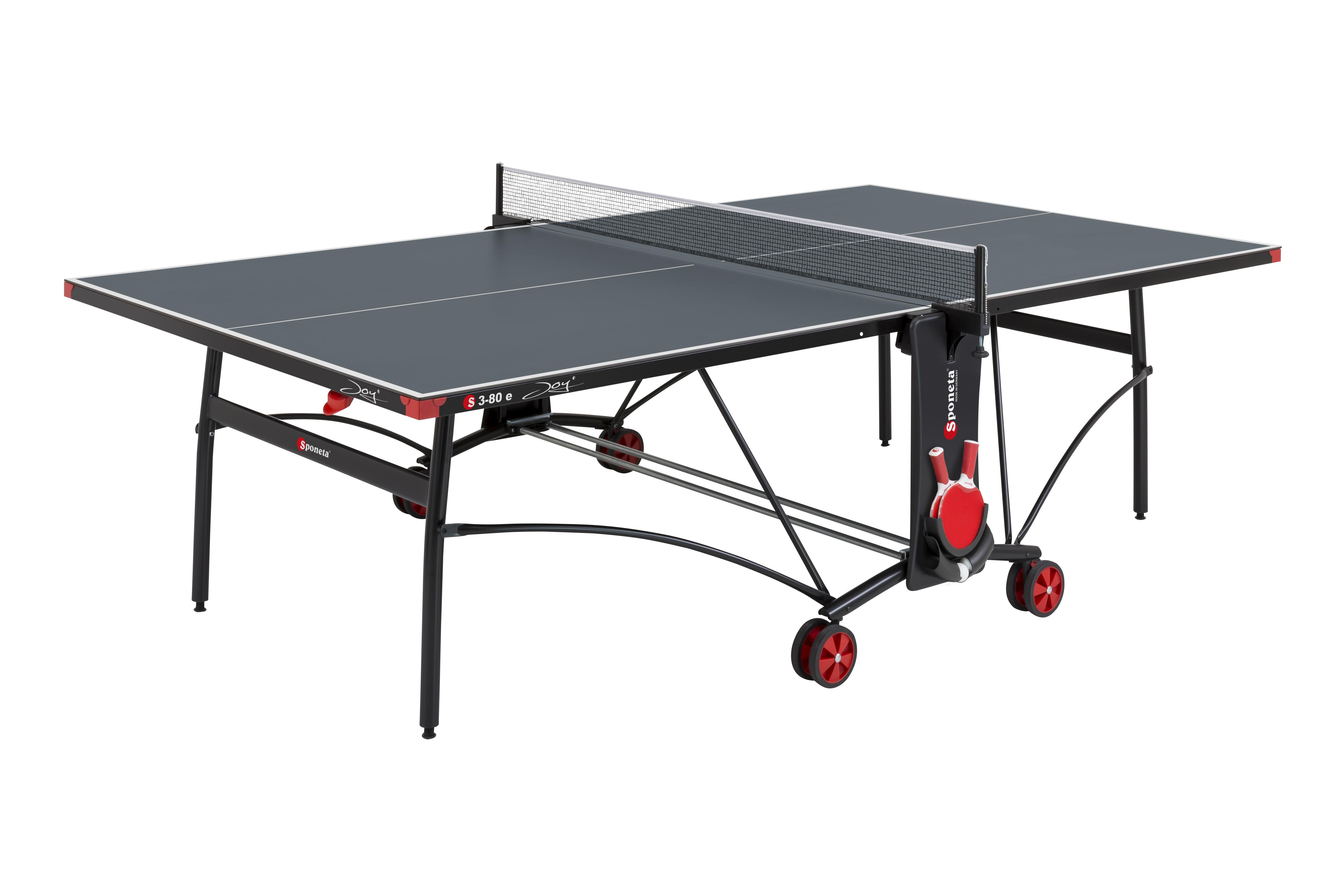 """TC0263: Tafeltennistafel Outdoor SPONETA S 3-80 e grijze tafel met zwart onderstel""""Gratis levering"""" #1"""
