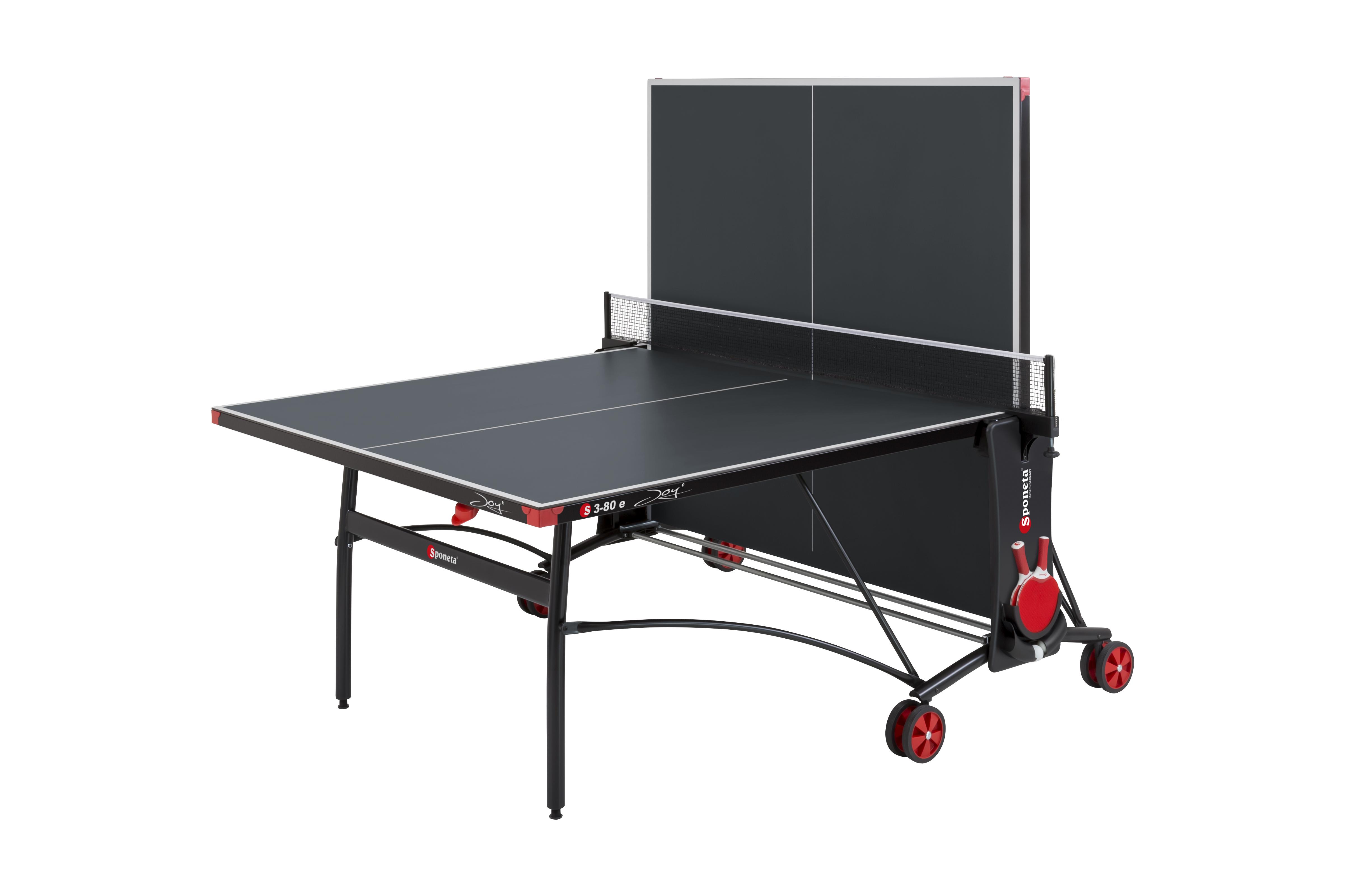 """TC0263: Tafeltennistafel Outdoor SPONETA S 3-80 e grijze tafel met zwart onderstel""""Gratis levering"""" #2"""