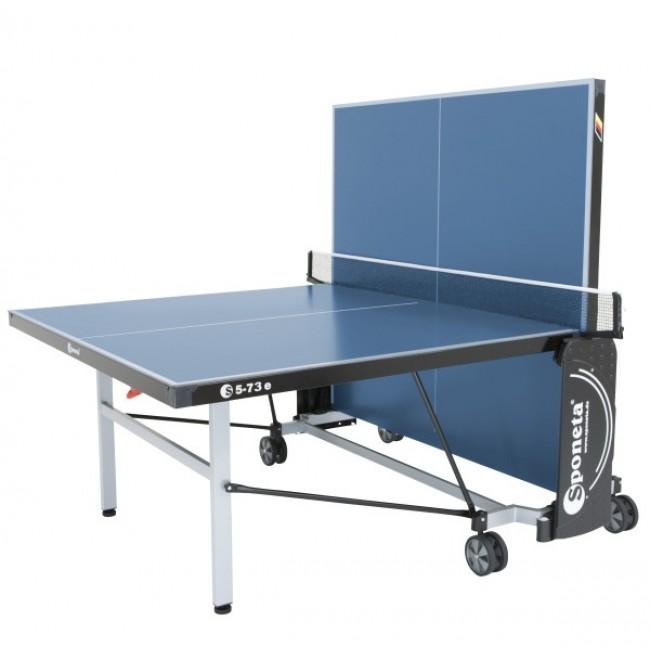 TC0279: Tafeltennistafel Sponeta Outdoor Schoolline Compact Blauw  #2