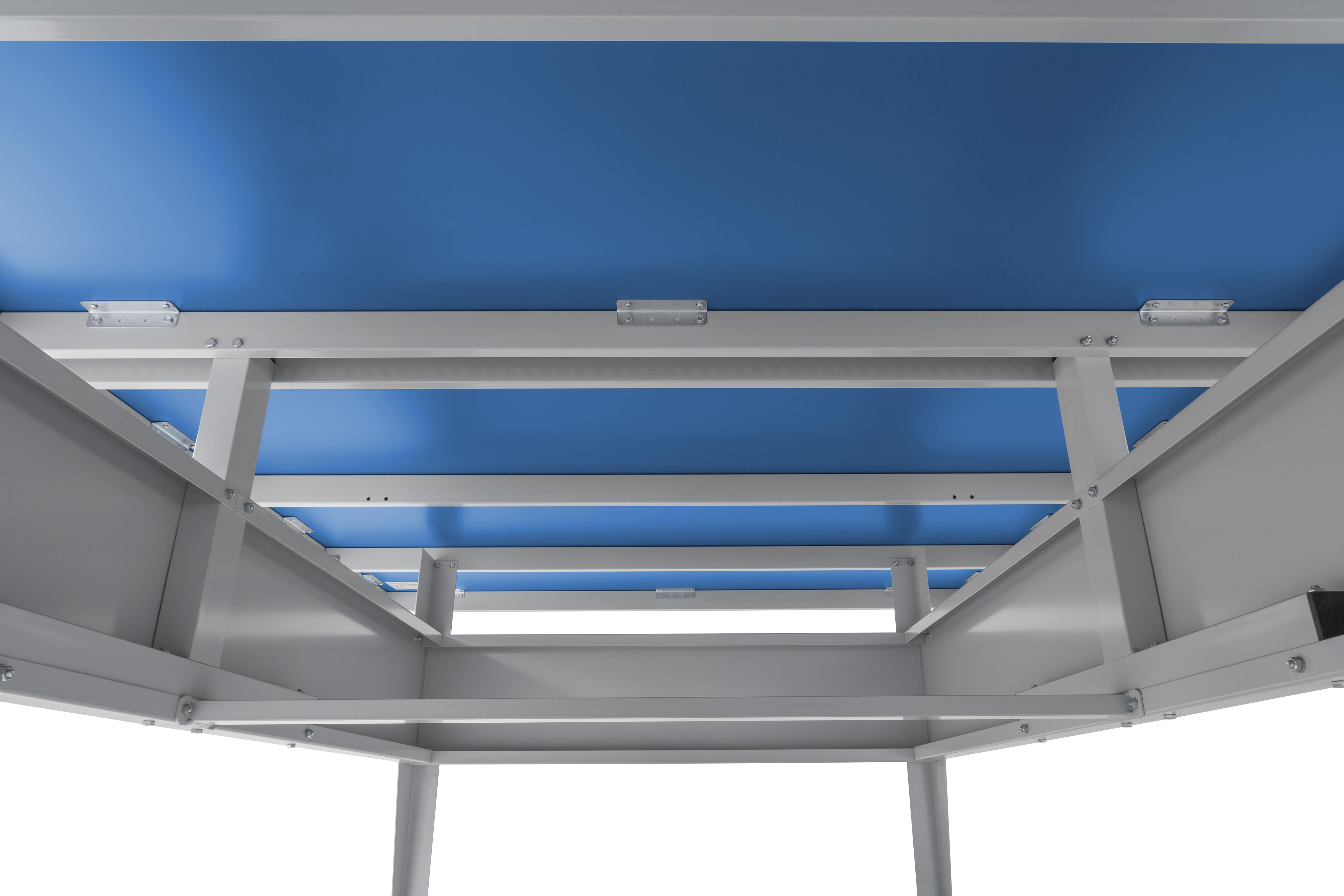 "TC0283: Tafeltennistafel Sponeta Outdoor Active line blauw""Gratis levering"" #2"