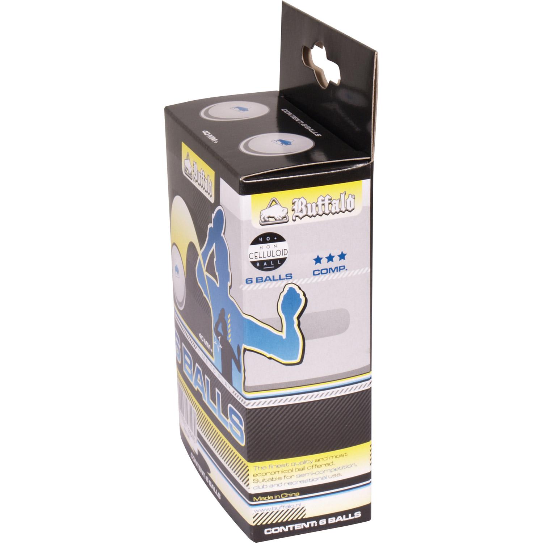 TC0736-3: Tafeltennis ballen Buffalo 6balls 3 ster #2