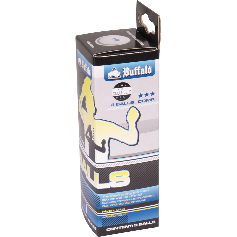 TC0738-3: Tafeltennis ballen Buffalo 3balls 3 ster #2