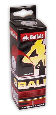Tafeltennis ballen Buffalo 3balls