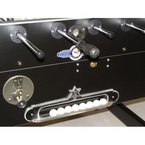 VC0161: Voetbaltafel DEUTSCHER MEISTER GRANDE LUXE ZWART, Gratis levering & Montage!  #4
