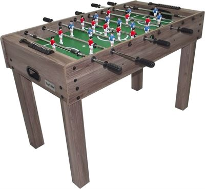Voetbaltafel TopTable Wood telescoop